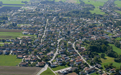 01 Gro%C3%9Fkarolinenfeld Luftbild 2x3 2 - Gemeinden