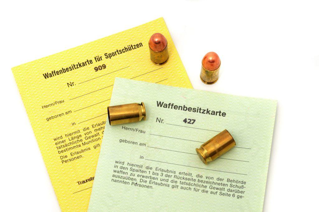 Waffenbesitzkarte © PeJo Adobe Stock Photo