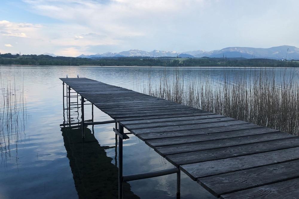 Qualität der Badeseen Simssee Ina Krug