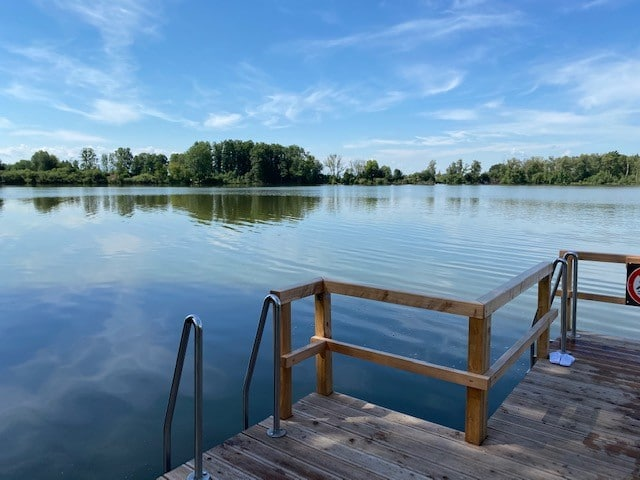 Staudhamer See, Wasserburg