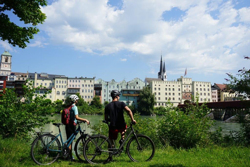 Radfahren Wasserburg am Inn ©Chiemsee-Alpenland Tourismus