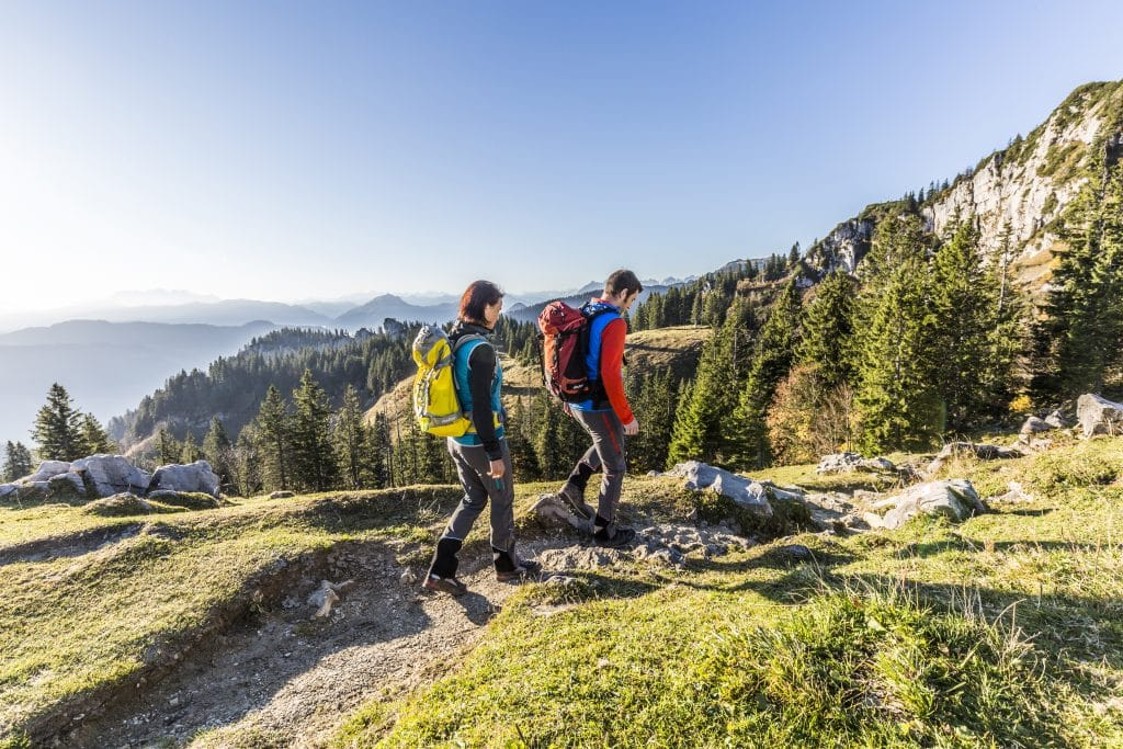 Wandern Kampenwand ©Chiemsee-Alpenland Tourismus