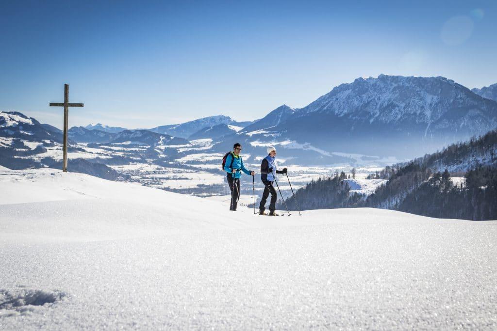 Winter Hocheck Oberaudorf ©Chiemsee-Alpenland Tourismus
