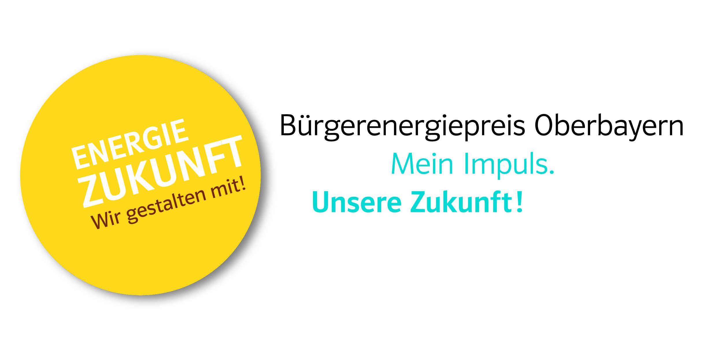 Logo Bürgerenergiepreis Oberbayern