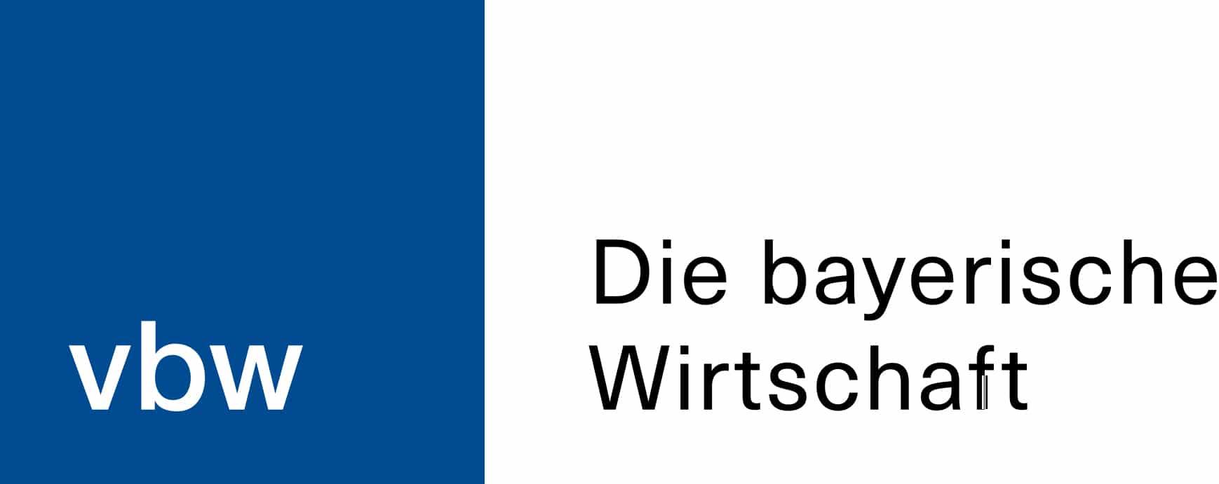 Logo vbw - Die bayerische Wirtschaft