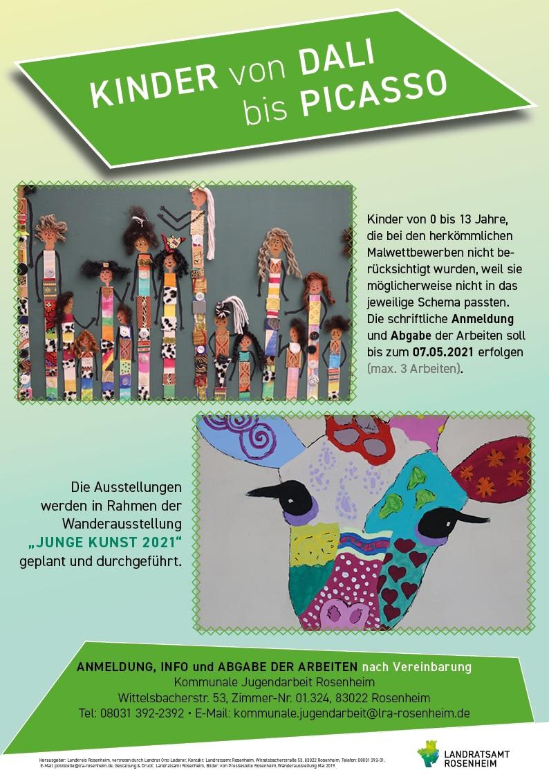 Junge Kunst von Dali bis Picasso
