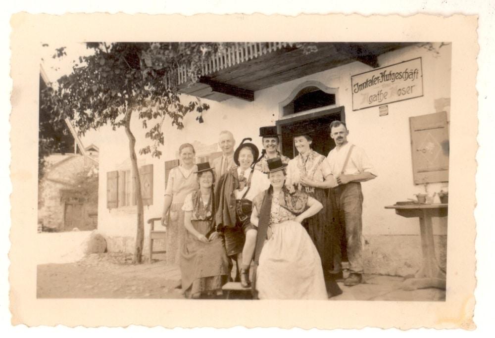 Historisches Foto zu Inntaler Hutgeschäft