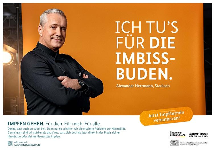 Alexander Herrmann - Impfkampagne Ich tu´s für…