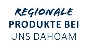 Logo Regionale Produkte bei uns Dahoam