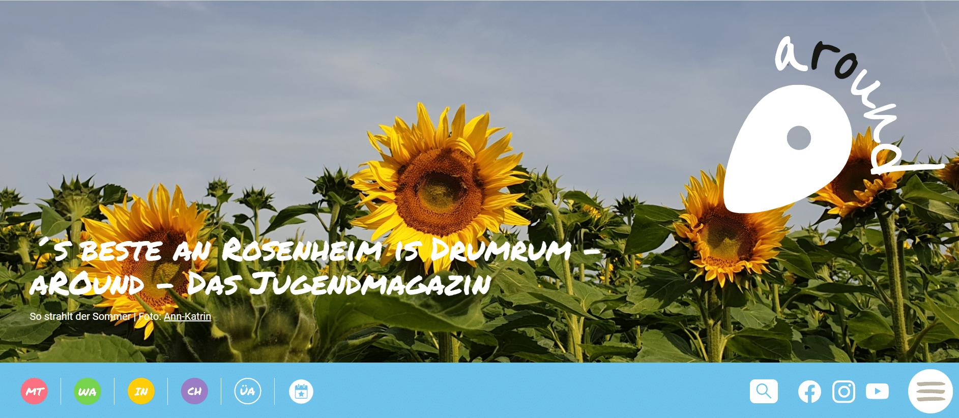 AROUND Screenshot - Kommunale Jugendarbeit Rosenheim – Präsentation zweier Erfolgsprojekte