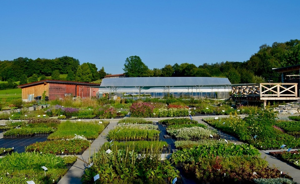 Die wunderschöne Gärtnerei in Thal in der Gemeinde Soyen